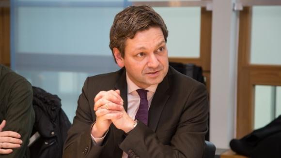 """Christian Baldauf beim Expertengespräch """"Was ist Digitalisierung?"""""""