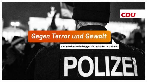 Entschieden gegen Terror und Gewalt