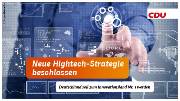 Neue Hightech-Strategie