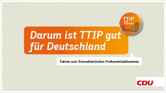 Darum ist TTIP gut für Deutschland - Fakten zum Transatlantischen Freihandelsabkommen