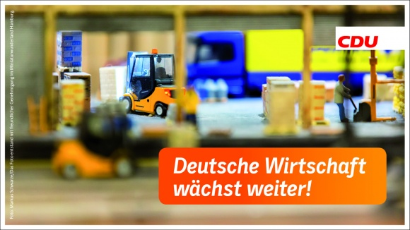 Deutsche Wirtschaft wächst weiter!