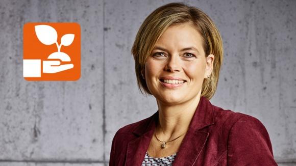 Julia Klöckner: Nachhaltig leben