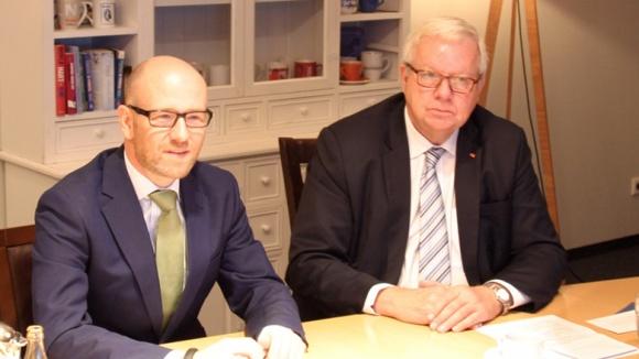 Peter Tauber und Michael Fuchs