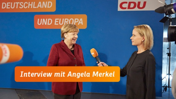 Angela Merkel im CDU.TV-Interview