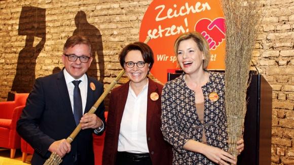 Guido Wolf, Annette Widmann-Mauz und Julia Klöckner