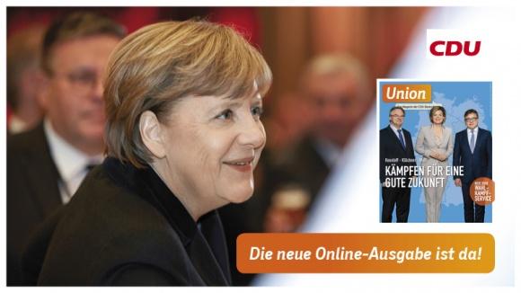 Merkel: Verantwortung ist unser Anspruch