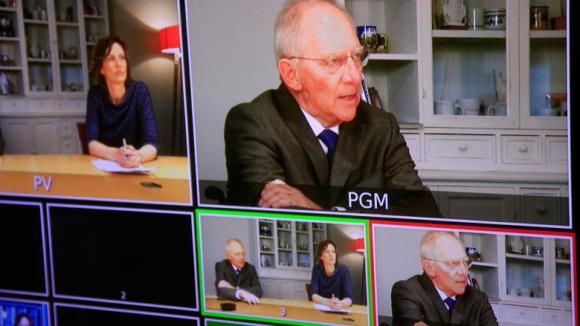 Digitales Fachgespräch mit Bundesfinanzminister Wolfgang Schäuble