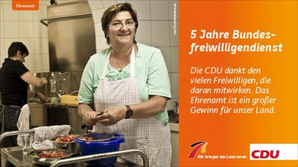 5 Jahre Bundesfreiwilligendienst – Erfolgsmodell für Deutschland