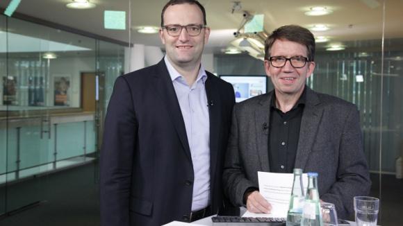 Digitales Fachgespräch mit Jens Spahn