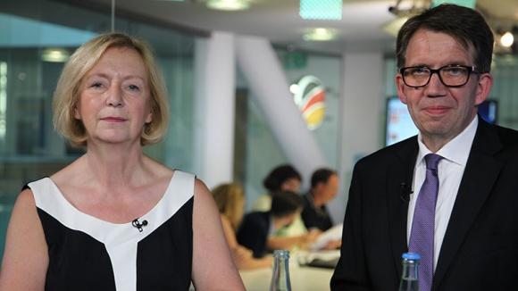 Digitales Fachgespräch mit Bundesministerin Johanna Wanka