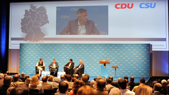 Deutschlandkongress von CDU und CSU in München