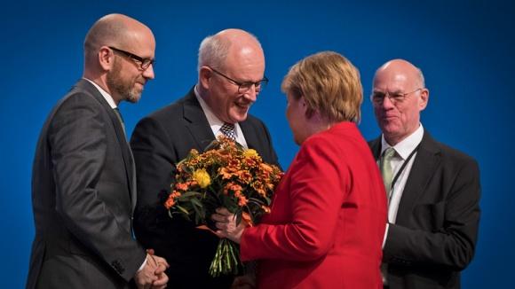 Glückwünsche für Angela Merkel