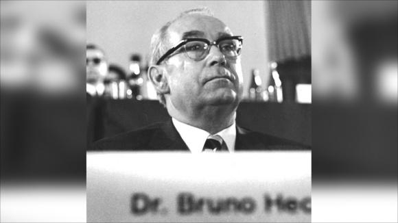 Bruno Heck, erster Generalsekretär der CDU Deutschlands Foto: Pelz  [CC BY-SA 3.0 (http://creativecommons.org/licenses/by-sa/3.0)], via Wikimedia Commons