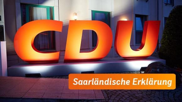 Saarländische Erklärung: Für eine gute Zukunft Deutschlands: Wohlstand sichern. Zusammenhalt stärken.