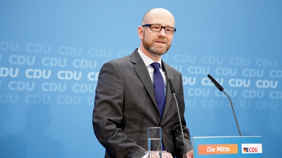 CDU-Generalsekretär Peter Tauber im Konrad-Adenauer-Haus