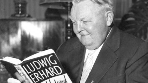 """Ludwig Erhard und sein berühmtes Buch """"Wohlstand für alle"""""""