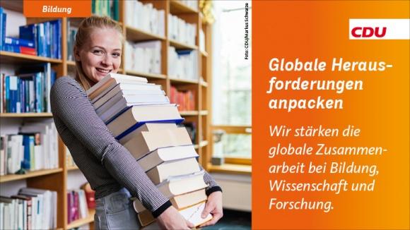 Globale Herausforderungen anpacken