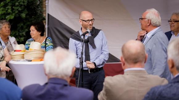 Generalsekretär Peter Tauber in Würselen