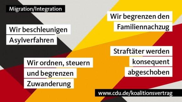 Zuwanderung ordnen, Integration fördern und fordern