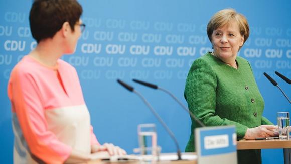Kramp-Karrenbauer: Ich möchte mich in den Dienst der Partei stellen