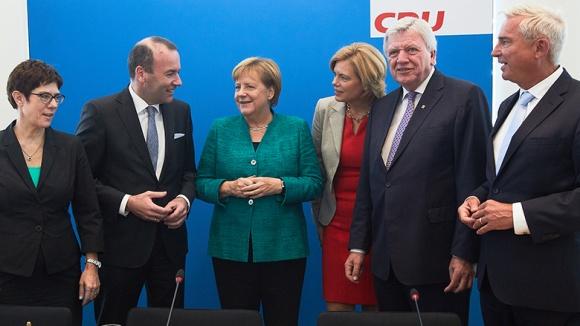 Manfred Weber (EVP-Fraktion) zu Gast im CDU-Bundesvorstand