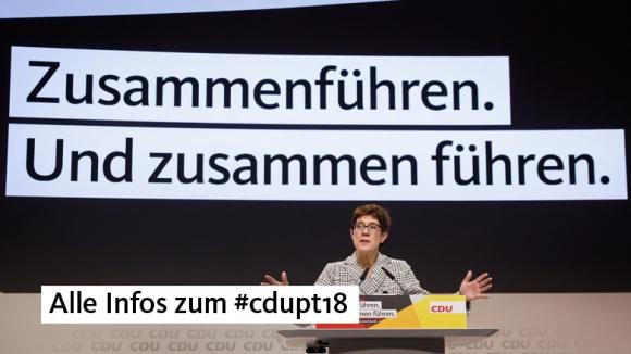 Hier geht es zur Seite des 31. Parteitags der CDU