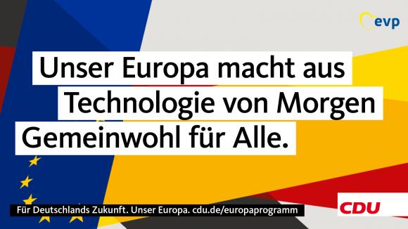 CDU: Forschung soll Menschen und Umwelt dienen