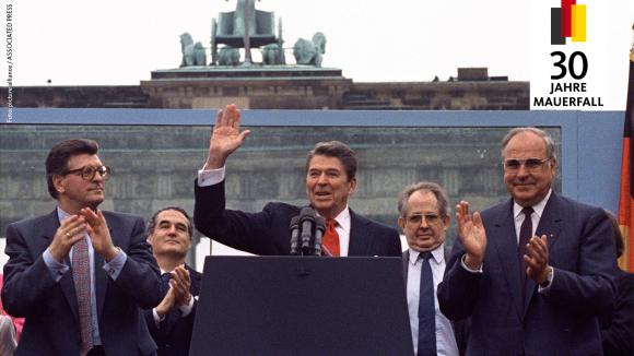 Reagan: Tear down this wall!