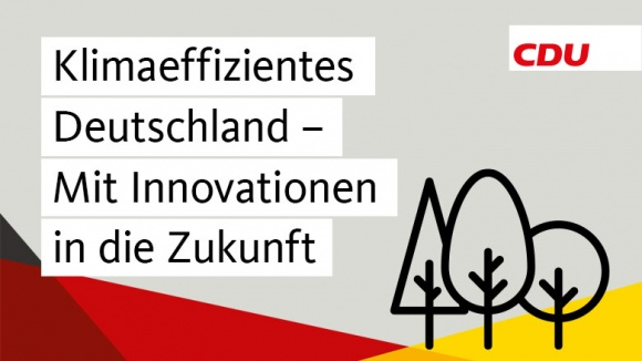Beschluss Klimaeffizientes Deutschland