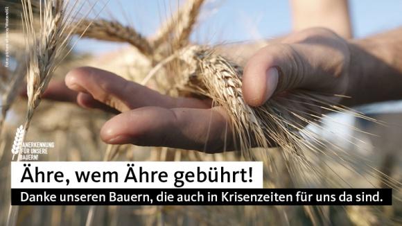 Unterstützung für die Landwirtschaft