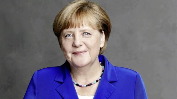 Auf dem Bild sieht man: Die CDU-Vorsitzende, Budeskanzerin Angela Merkel.