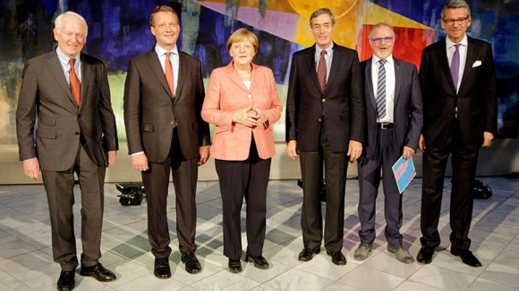 Spitzengespräch von CDU-Präsidium und Wirtschaftsverbänden