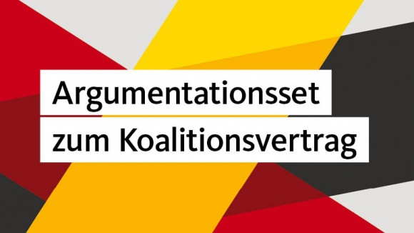 Argumentationsset zum Koalitionsvertrag