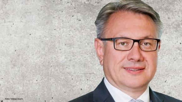 Auf dem Bild sieht man Dr. Georg Nüßlein, stellvertretender Vorsitzender der CDU/CSU-Bundestagsfraktion