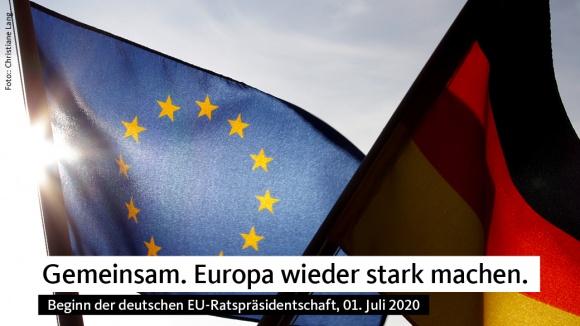 Start der deutschen EU-Ratspräsidentschaft