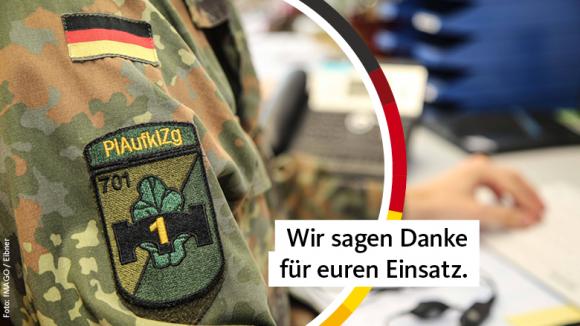 Beispielfoto für die Bundeswehr