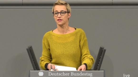 Nadine Schön, stellvertretende Vorsitzende der CDU/CSU-Bundestagsfraktion