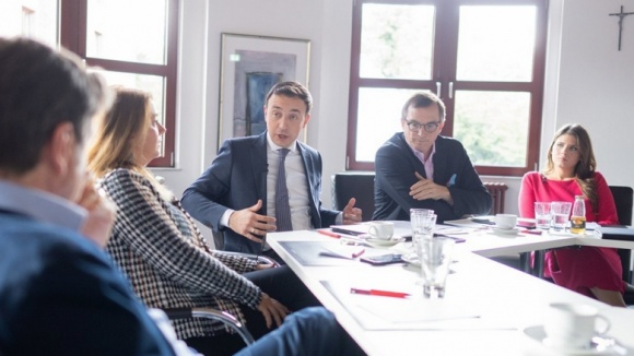 Gespräch zum CDU-Grundsatzprogramm mit CDU Generalsekretär Paul Ziemiak und Gästen