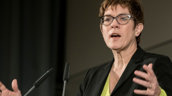 CDU-Vorsitzende Annegret Kramp-Karrenbauer