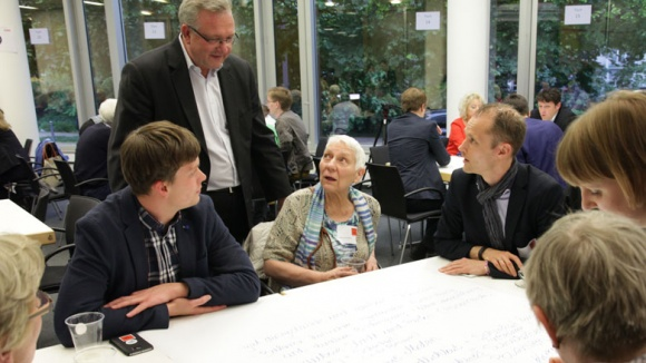 World Cafe der Berliner CDU