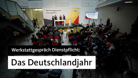 """Werkstattgespräch Dienstpflicht: """"Das Deutschlandjahr"""""""