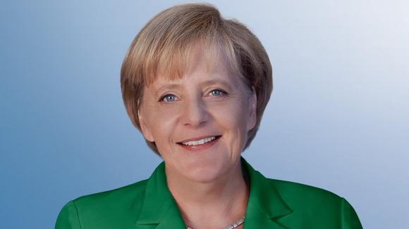 Pressefoto der Vorsitzenden Bundeskanzlerin Angela Merkel