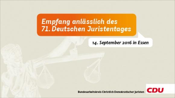 71. Deutscher Juristentag 2016