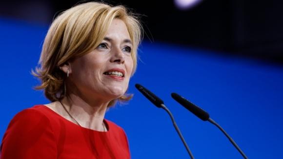 Bundesagrarministerin und rheinland-pfälzische CDU-Chefin Julia Klöckner