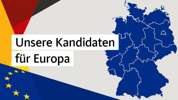Unsere Kandidaten für die Europawahl 2019