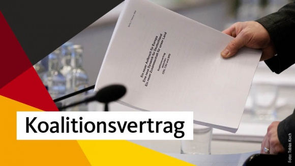 Koalitionsvertrag