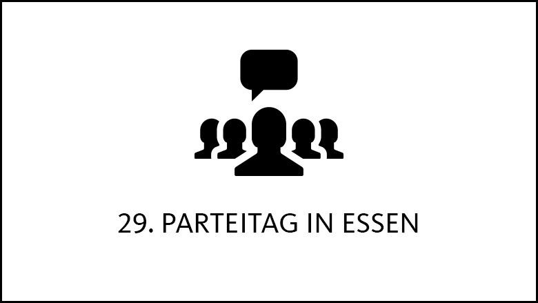 29. Parteitag der CDU Deutschlands