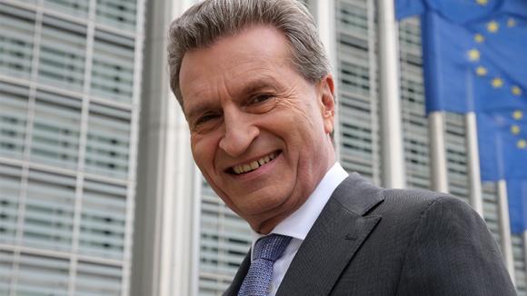 EU-Kommissar Günther H. Oettinger
