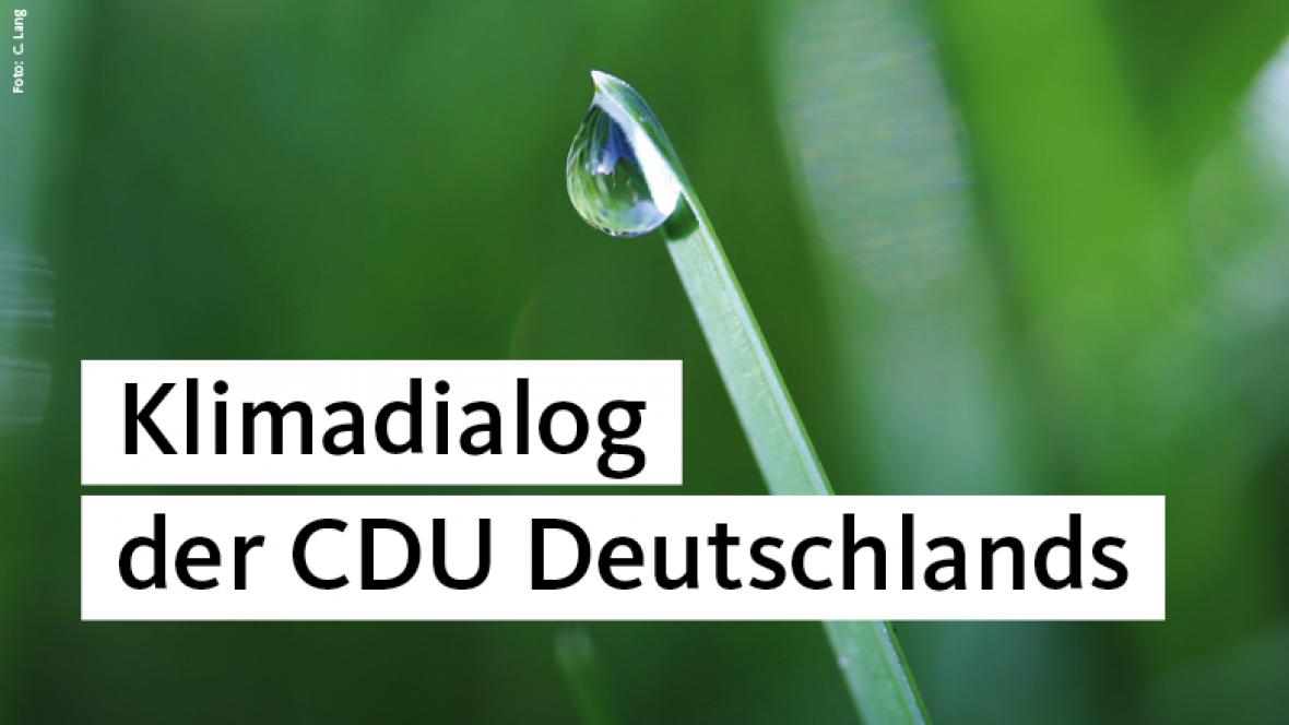 Klimadialog der CDU Deutschlands