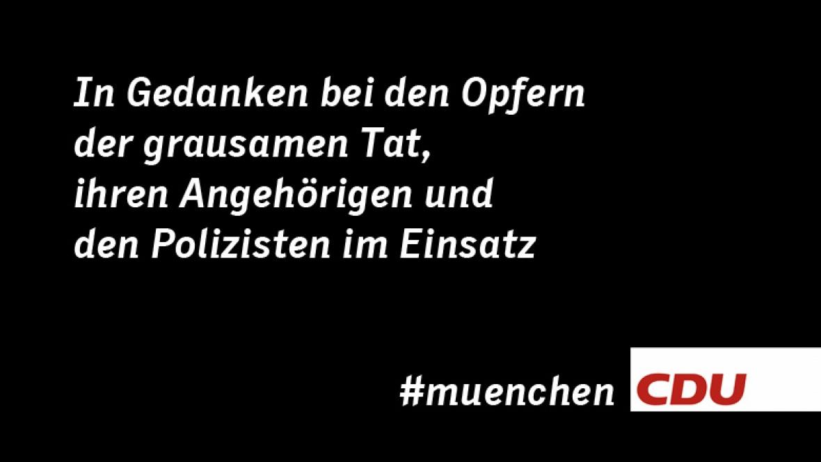 Trauer um die Opfer von München